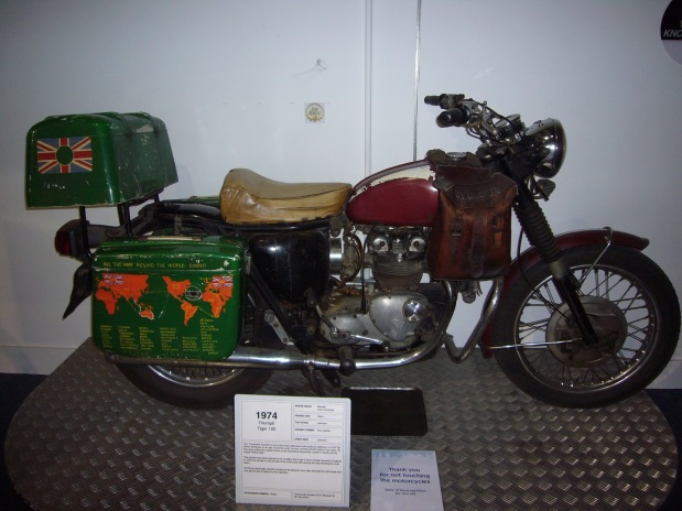 Ted Simon's Bike
