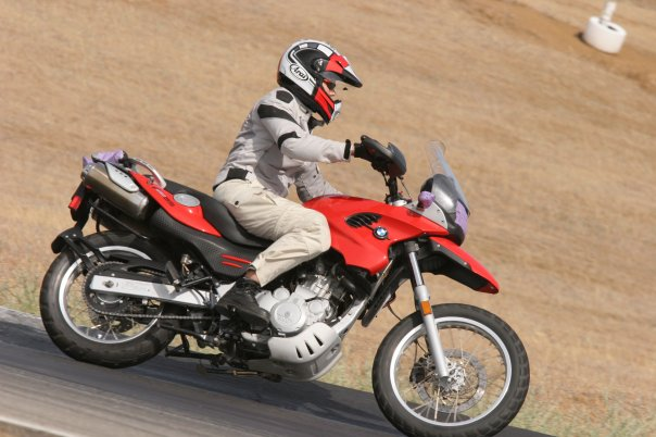 Track Day on my BMW 650 GS.