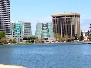 The view from the court house, on Lake Merritt while I waited for the judge's decision.