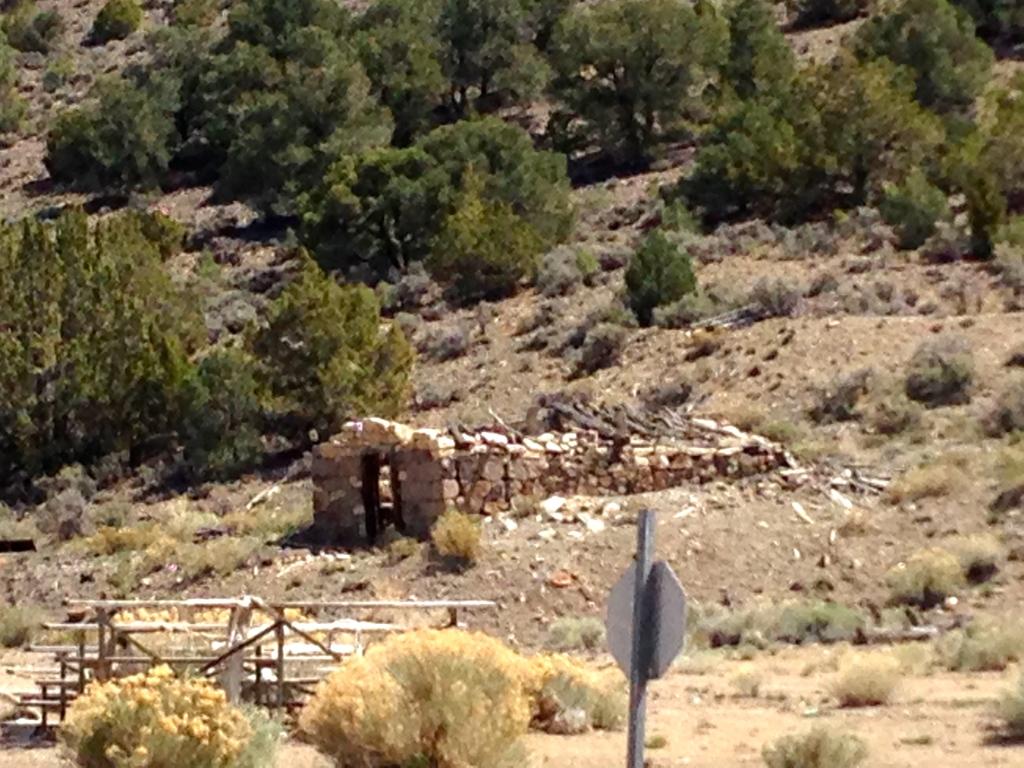An old stone dwelling left abandon