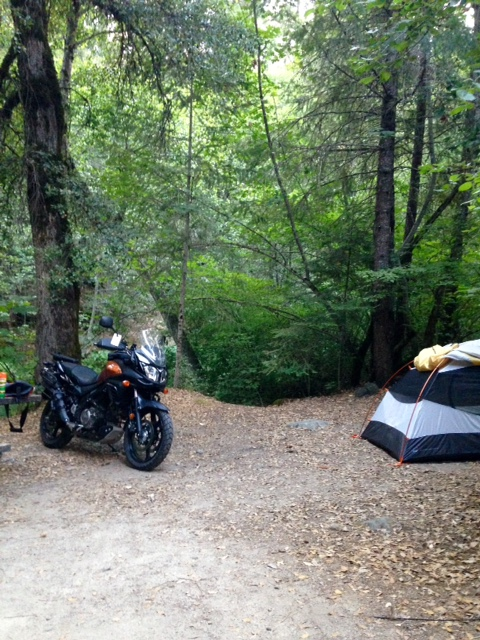 Northern California Moto Camping-Day 1